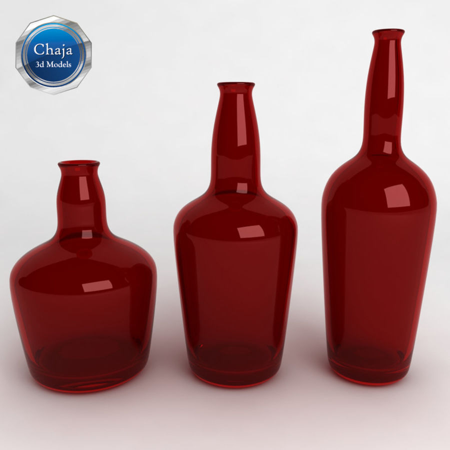 Bottles Collection royalty-free 3d model - Preview no. 22