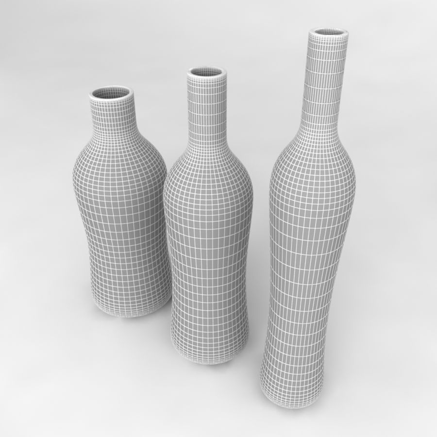 Bottles Collection royalty-free 3d model - Preview no. 59