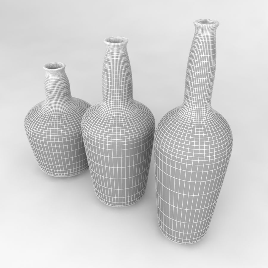 Bottles Collection royalty-free 3d model - Preview no. 54
