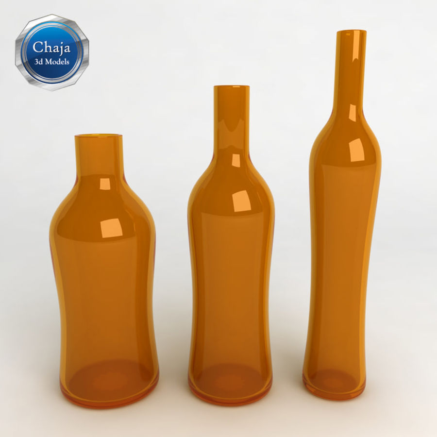 Bottles Collection royalty-free 3d model - Preview no. 27