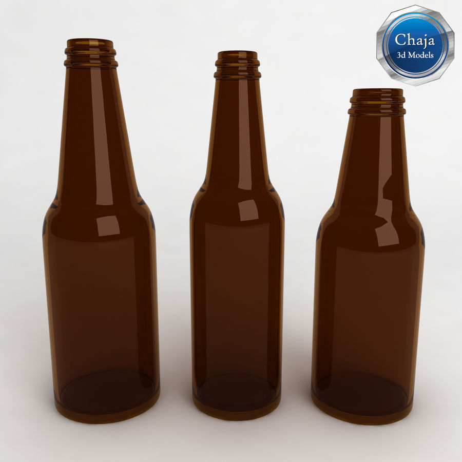 Bottles Collection royalty-free 3d model - Preview no. 2