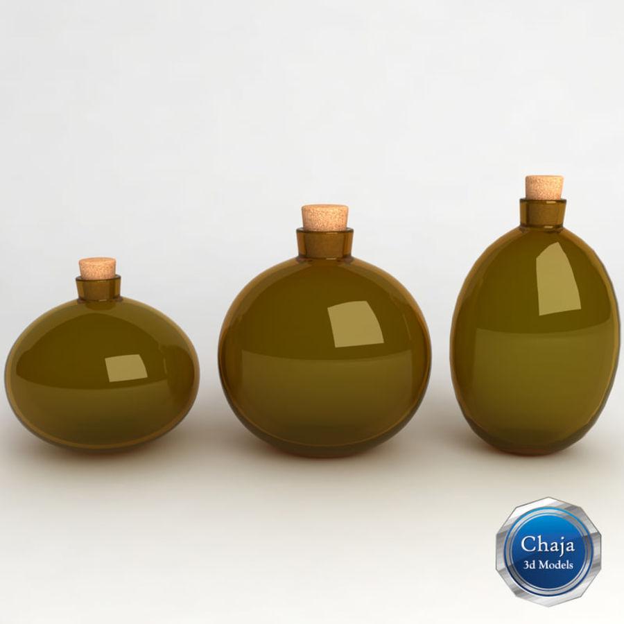 Bottles Collection royalty-free 3d model - Preview no. 17