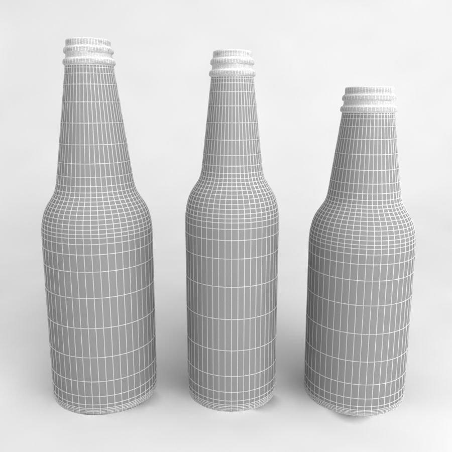 Bottles Collection royalty-free 3d model - Preview no. 32