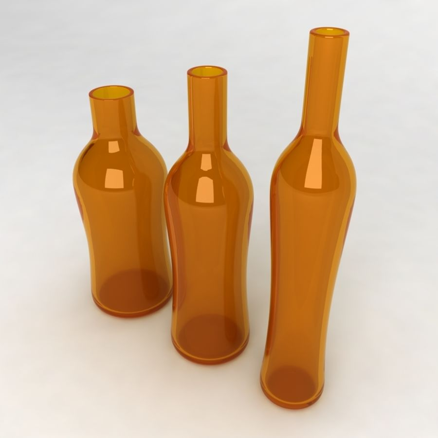 Bottles Collection royalty-free 3d model - Preview no. 29