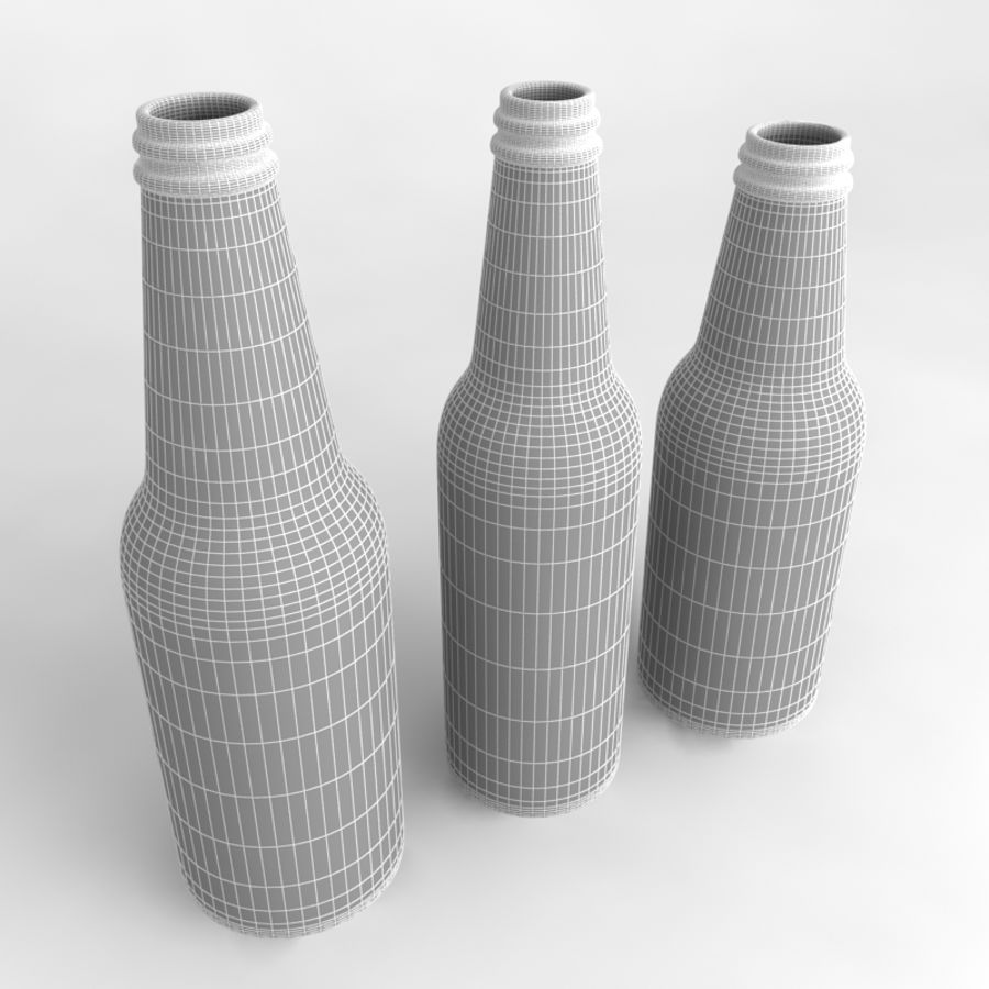 Bottles Collection royalty-free 3d model - Preview no. 33