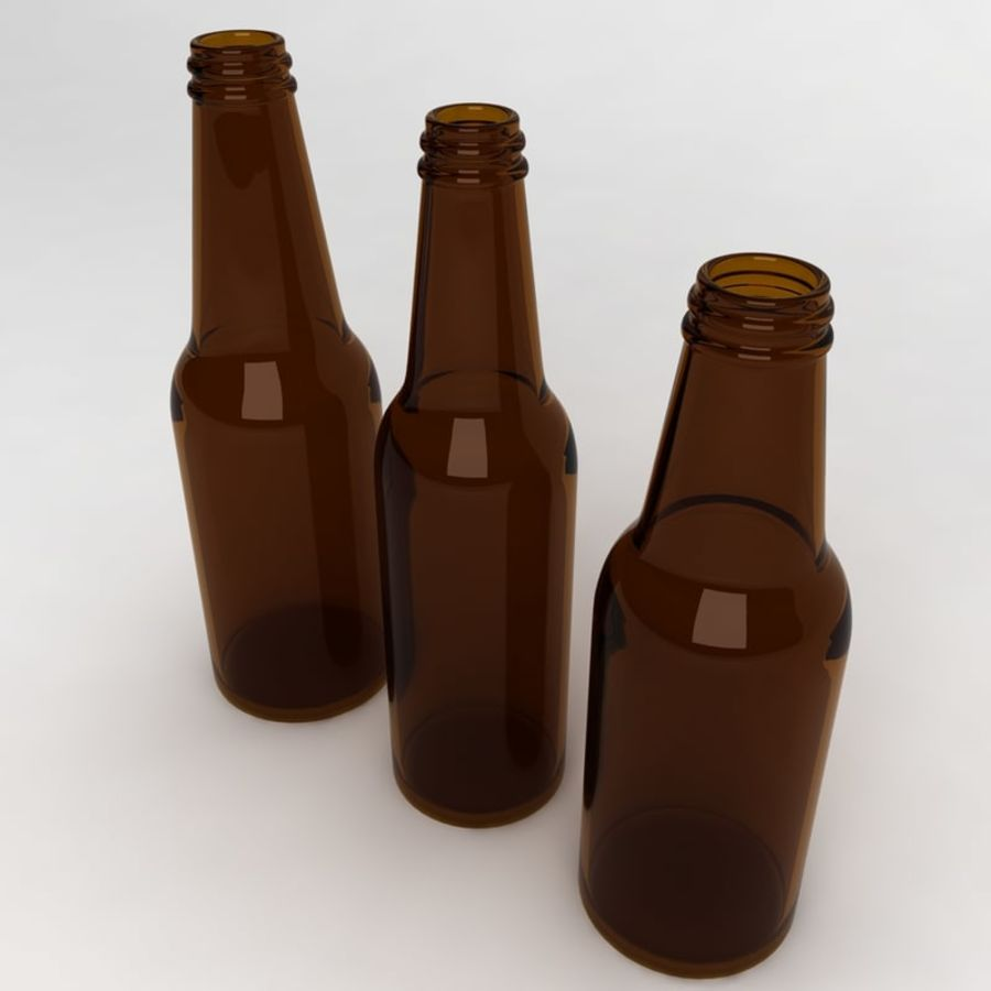 Bottles Collection royalty-free 3d model - Preview no. 4