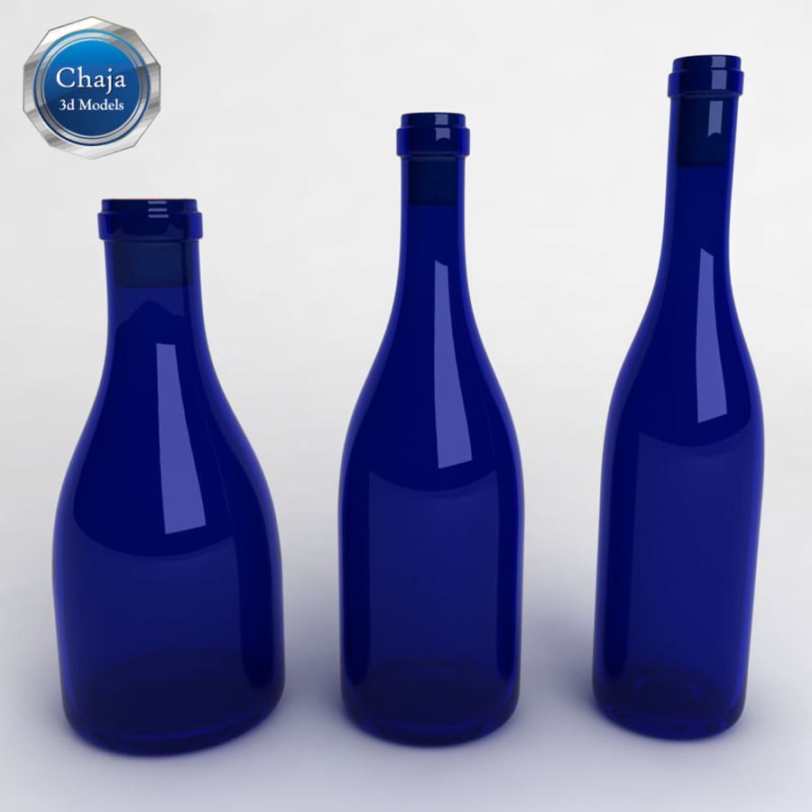 Bottles Collection royalty-free 3d model - Preview no. 12