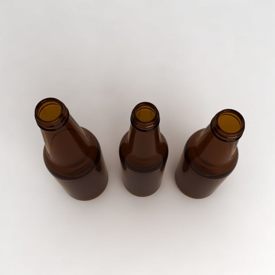 Bottles Collection royalty-free 3d model - Preview no. 5