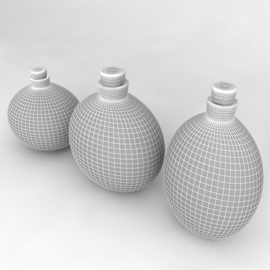 Bottles Collection royalty-free 3d model - Preview no. 51