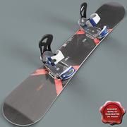 Snowboard V2 3d model