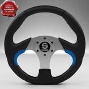 Steering Wheel Sparco Naxos 330mm 3d model