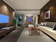 ggs-living room_011 3d model
