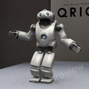 Robot Sony Qrio RIGGED 3d model