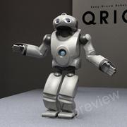 ロボットソニーQrio RIGGED 3d model