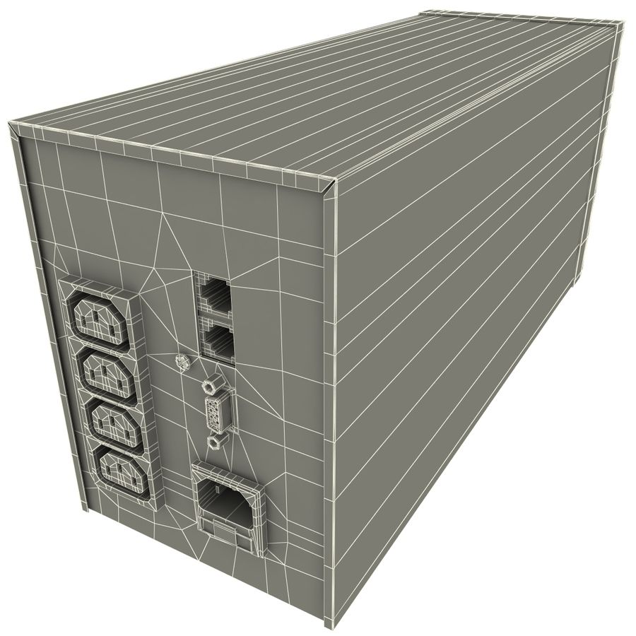 UPS CyberPower royalty-free 3d model - Preview no. 12