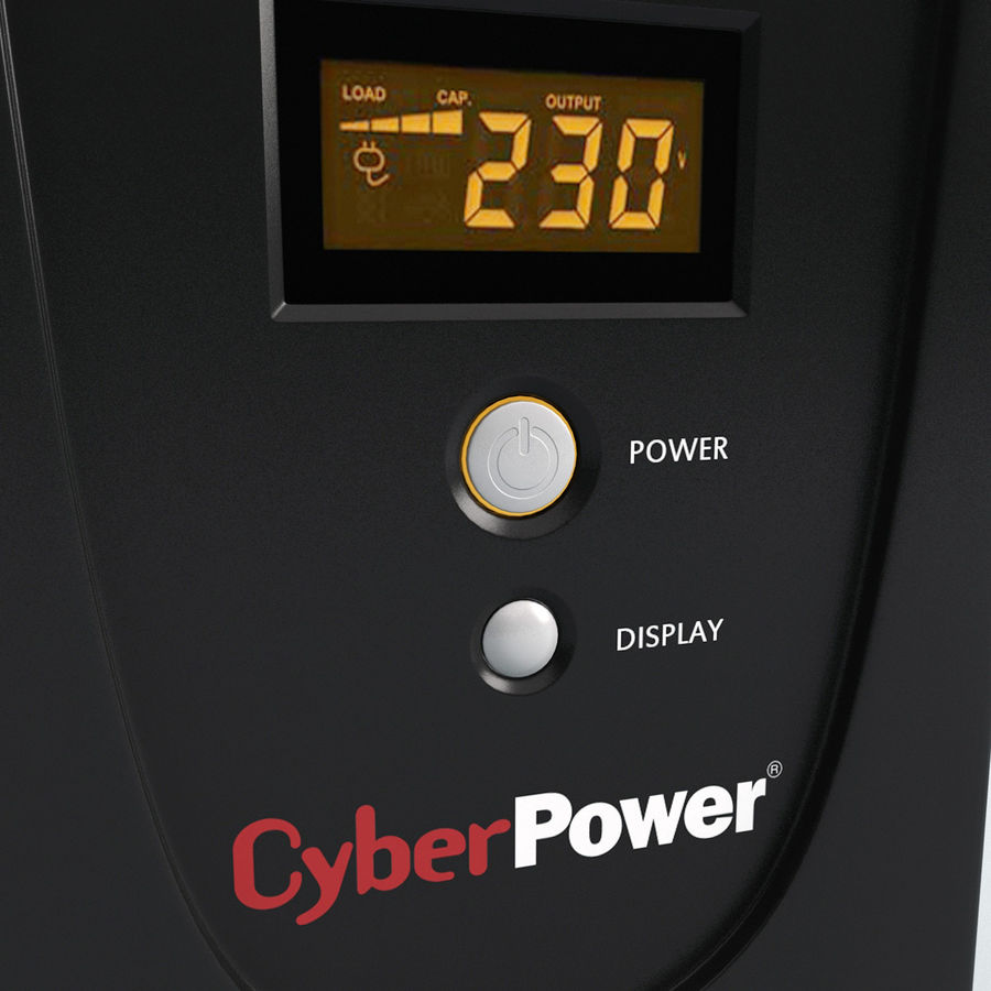 UPS CyberPower royalty-free 3d model - Preview no. 6