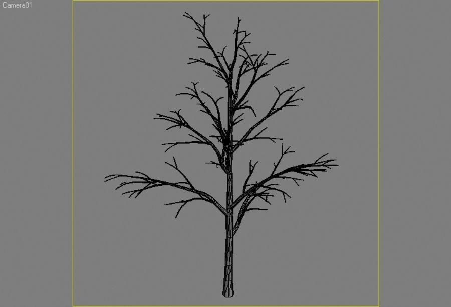 Drzewo # 2 royalty-free 3d model - Preview no. 4