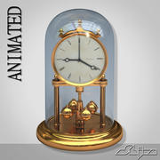 Table Clock 1 Animated 3d model