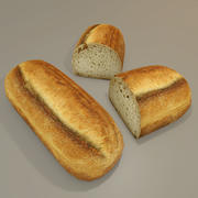 Ottoman bread(1) 3d model