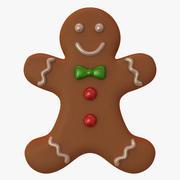 Gingerbread 3d model
