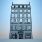 유럽 호텔 3d model