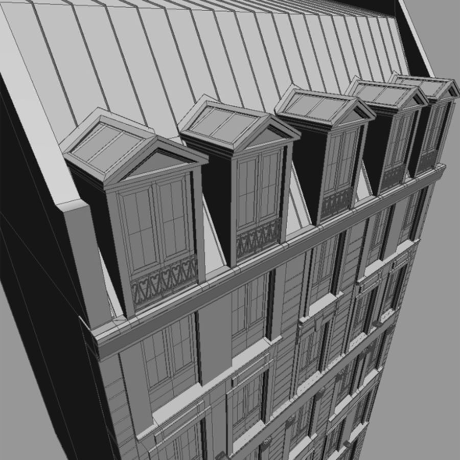 Europees hotel royalty-free 3d model - Preview no. 18