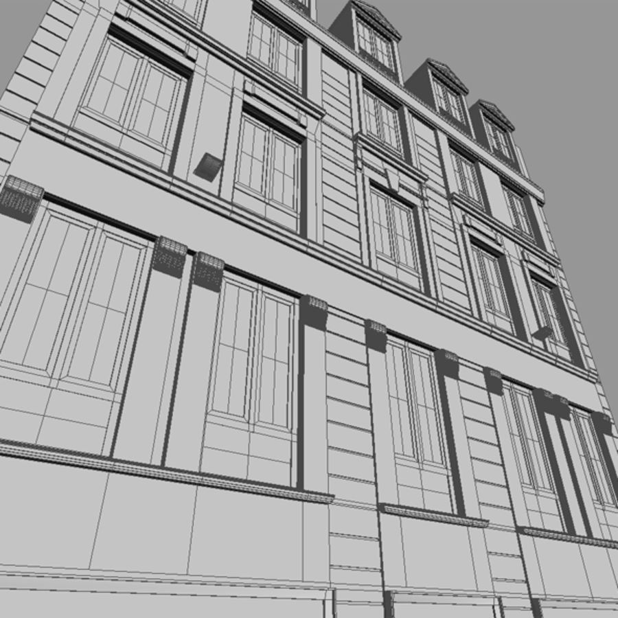 Europees hotel royalty-free 3d model - Preview no. 16