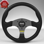 Steering Wheel MOMO Team 280mm 3d model