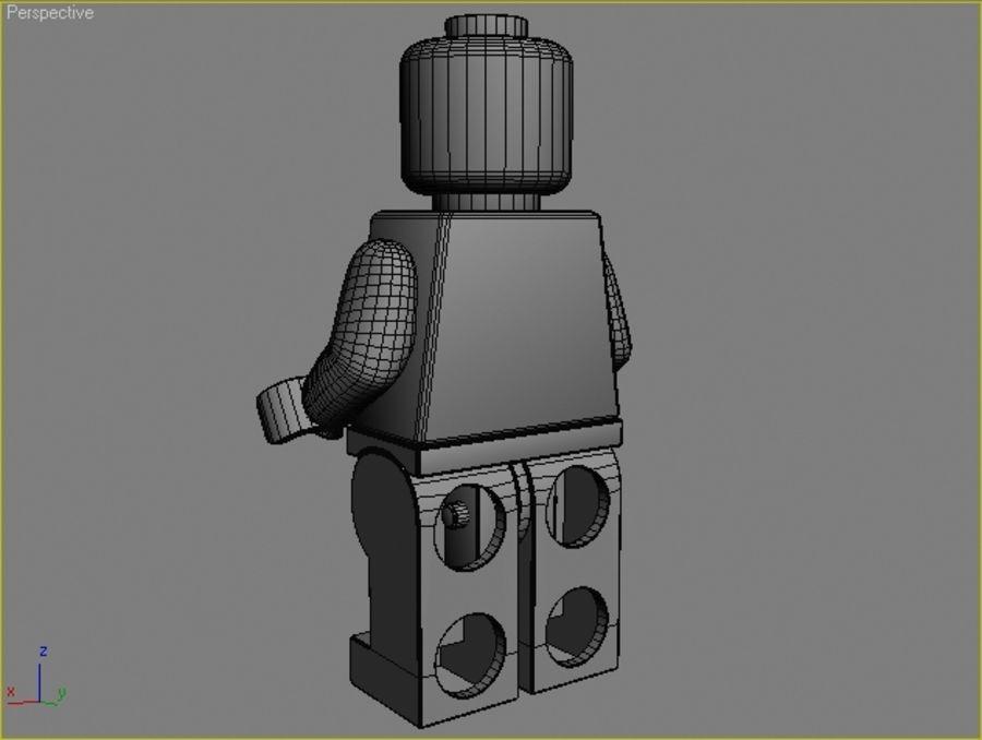 レゴキャラクター - 海賊 royalty-free 3d model - Preview no. 6