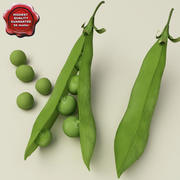 Pea Collection 3d model