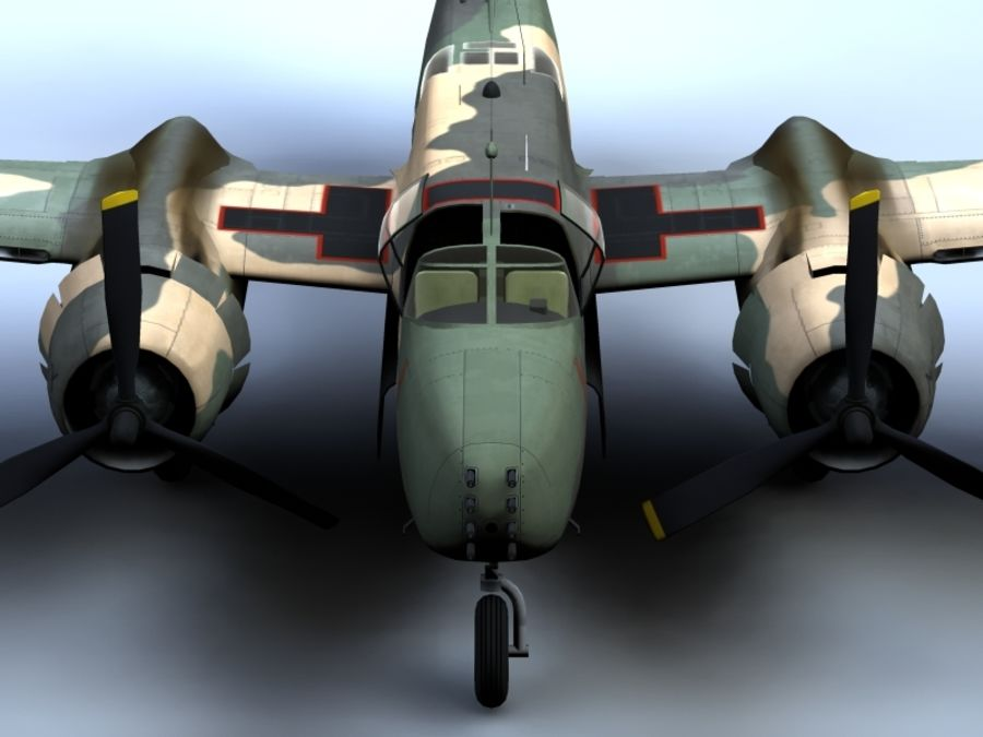 A-26K Counter Invader royalty-free modelo 3d - Preview no. 2