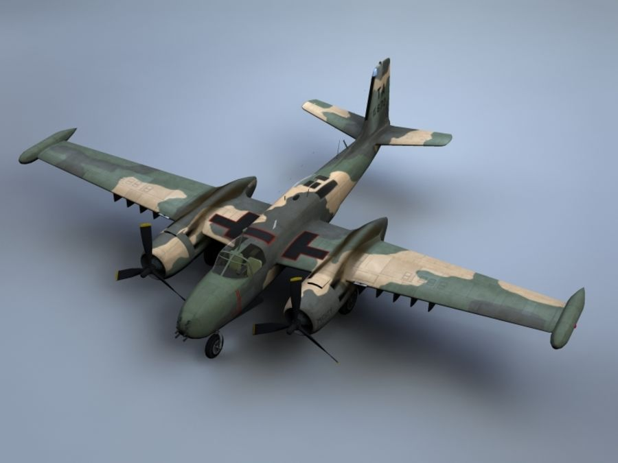 A-26K Counter Invader royalty-free modelo 3d - Preview no. 1
