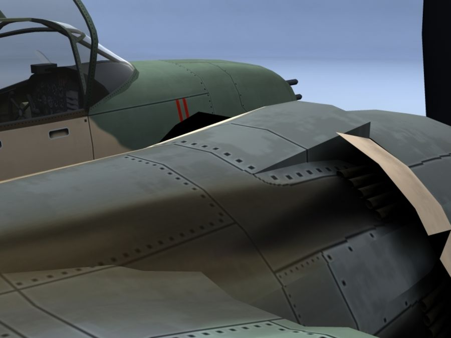 A-26K Counter Invader royalty-free modelo 3d - Preview no. 10