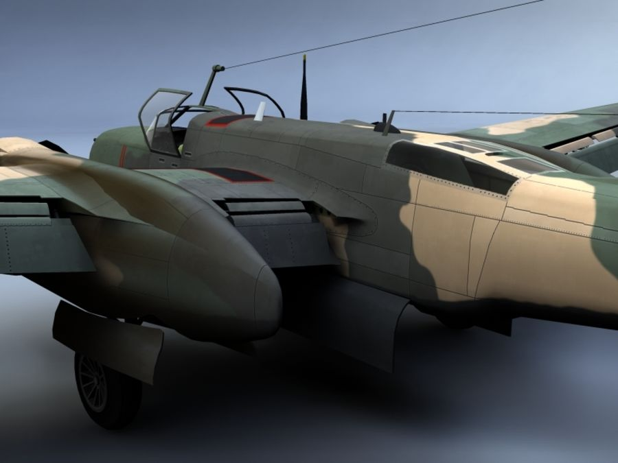 A-26K Counter Invader royalty-free modelo 3d - Preview no. 3