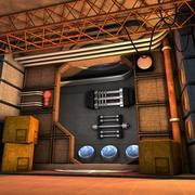 Futuristische ruimte 3d model