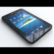 삼성 갤럭시 탭 3d model