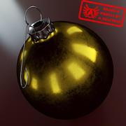 Ornament 22 - Julklapp av hög kvalitet - max 3ds 2010 - Mental Ray 3d model