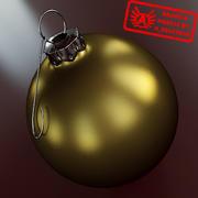 Ornament 18 - Julklapp av hög kvalitet - max 3ds 2010 - Mental Ray 3d model
