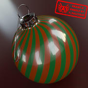 Ornament 13 - Högkvalitativ julprydnad - max 3ds 2010 - Mental Ray 3d model