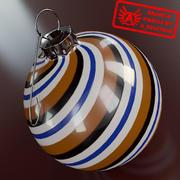 Ornament 12 - Julklapp av hög kvalitet - max 3ds 2010 - Mental Ray 3d model