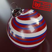 Ornament 11 - Julklapp av hög kvalitet - max 3ds 2010 - Mental Ray 3d model