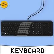 电脑键盘3D模型 3d model