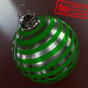 Ornament 10 - Julklapp av hög kvalitet - max 3ds 2010 - Mental Ray 3d model