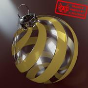 Ornament 9 - Julklapp av hög kvalitet - max 3ds 2010 - Mental Ray 3d model