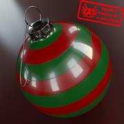 Ornament 8 - Julklapp av hög kvalitet - max 3ds 2010 - Mental Ray 3d model
