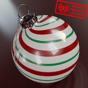 Ornament 7 - Julklapp av hög kvalitet - max 3ds 2010 - Mental Ray 3d model