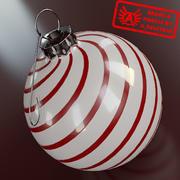 Ornament 6 - Julklapp av hög kvalitet - max 3ds 2010 - Mental Ray 3d model