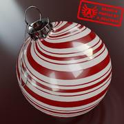 Ornament 5 - Högkvalitativ julprydnad - max 3ds 2010 - Mental Ray 3d model