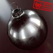 Ornament 4 - Högkvalitativ julprydnad - max 3ds 2010 - Mental Ray 3d model