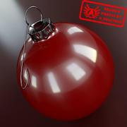 Ornament 1 - Högkvalitativ julprydnad - max 3ds 2010 - Mental Ray 3d model